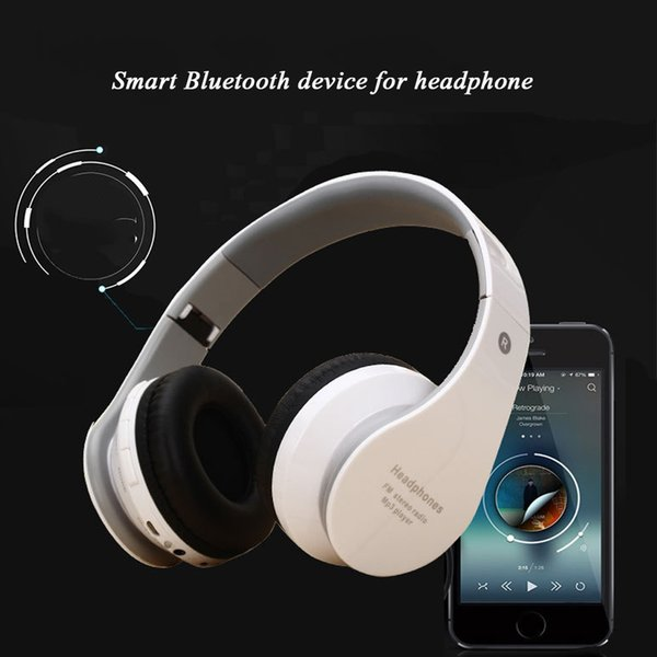Eporter Gaming Headset Wireless Bluetooth device Stereo Earphones Headphones with Microphone support the TF card for computer games