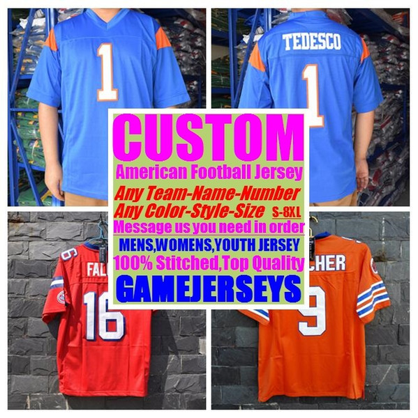 best selling 2019 Customized american football jerseys college cheap authentic game elite sports jersey stitched mens womens youth kids 4xl 5xl 6xl 7xl
