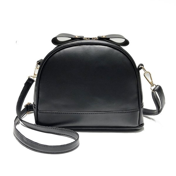 good quality 2019 Pu Leather Women Handbag Fashion Ladies Small Saddle Shoulder Messenger Bag Black Women Bags Mini Tote New