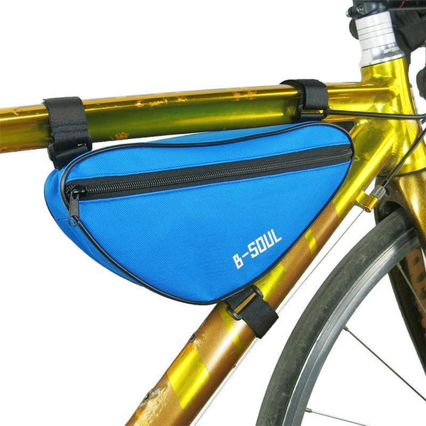 Cycling Bicycle Front Bag Pouch Mountain Bike E Frame Round Tube Large Capacity Case Outdoor Sport Accessories Tools Nice