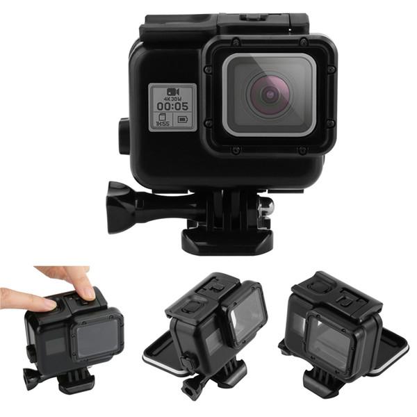 Custodia protettiva impermeabile per fotocamera di lusso per GoPro Hero5 Hero6 Hero7 con cover posteriore touch screen Custodia impermeabile