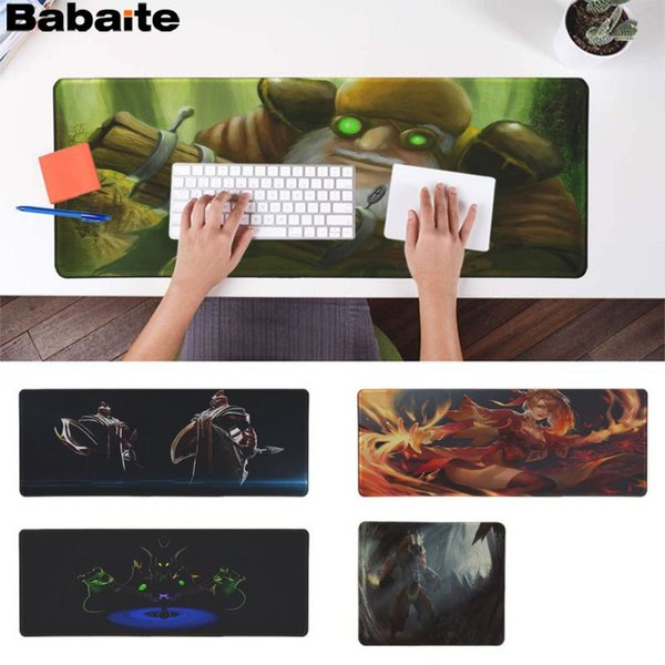 Babaite dota2 UGEF Rubber PC Computer Gaming mousepad Speed/Control Version Large Gaming Mouse Pad