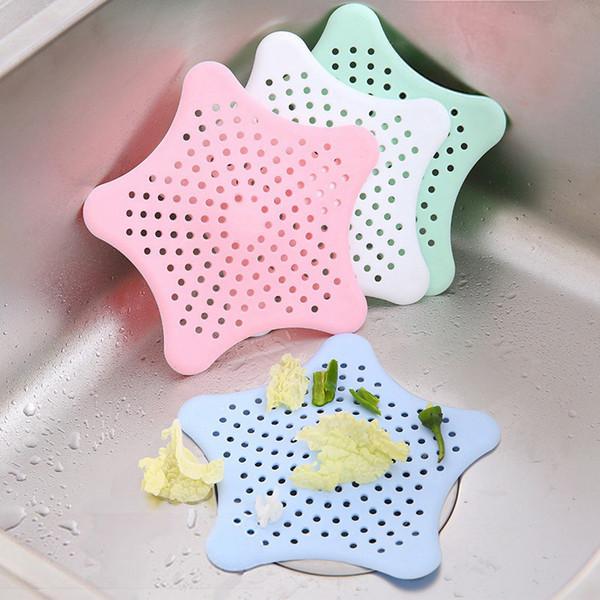top popular Kitchen Bathroom Toilet Silicone Sink Drain Filter Bathtub Drain Hole Filter Trap Sink Strainer Hair Catcher Stopper Shower BH0270 2021