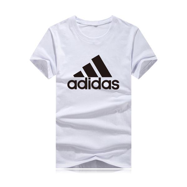 2019 yeni yüksek kalite T-shirt Erkekler T gömlek Homme Giyim Kısa Kollu Tişört Katı Erkek Tee Gömlek Yaz