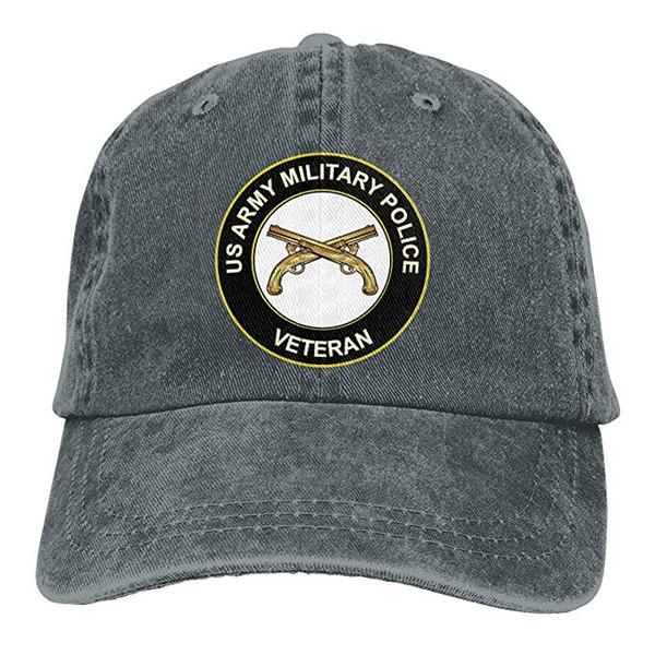 Satın Al 2019 Yeni Toptan Beyzbol Kapaklar Abd Ordusu Veteran Askeri