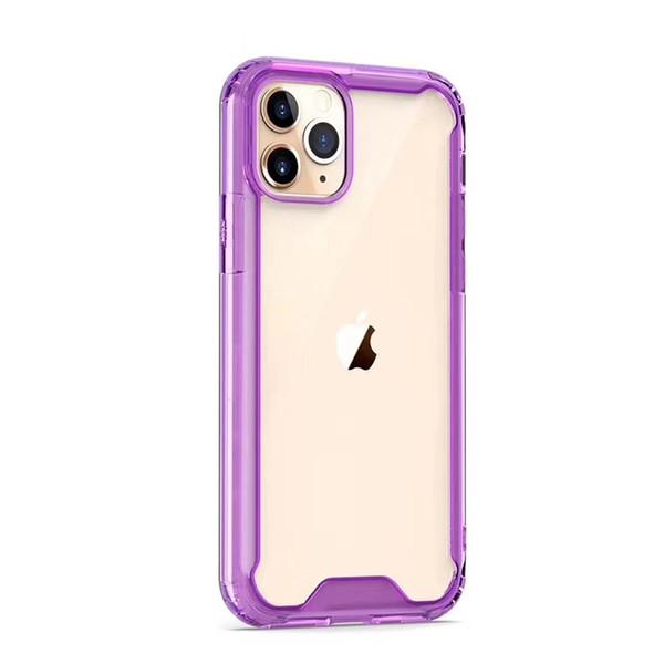 Transparente púrpura