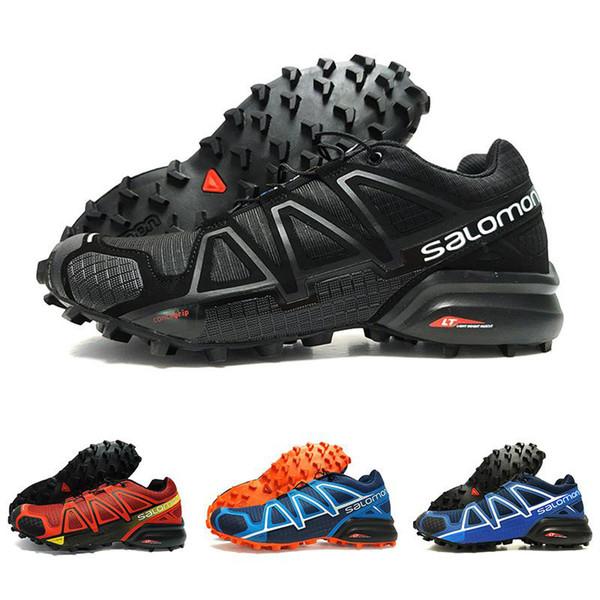 Drop Shipping Velocidade Cruz 4 IV CS preto azul orange red Sapatos Ao Ar Livre Homem Respirável Atletismo Malha Esgrima Sapatos sports sneaker