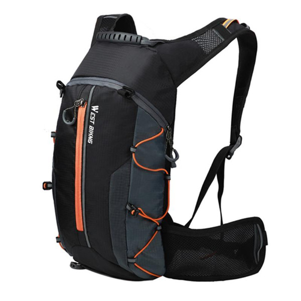 best selling Cycling Bags WEST BIKING Foldable Waterproof Bicycle Bag Backpack Breathable 10L Ultralight Climbing