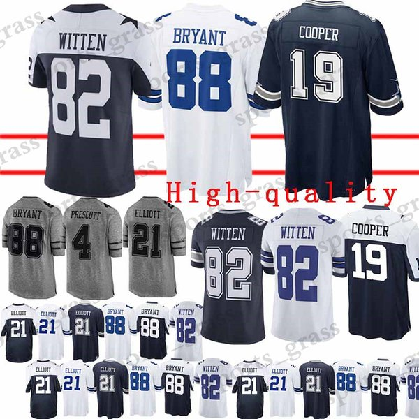 info for c2ae1 0057b 2019 Dallas Cowboys Jersey 82 Jason Witte 88 Dez Bryant 19 Amari Cooper 4  Dak Prescott Jerseys High Quality From Sports_grass, $22.5 | DHgate.Com