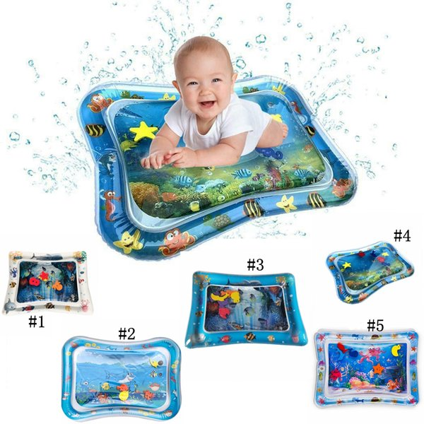 Inflatable Water Cushion Best Baby Toy Home Mats Seat Infant Tummy Time Fun Play Mats Babies 5 different style MMA1940
