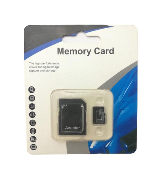 Новый 2019 горячая распродажа лучшие продажи 256 ГБ 128 ГБ 64 ГБ 32 ГБ 16 ГБ микро памяти TF SD адаптер класс 10 карты памяти с бесплатной SD адаптер розничная пакет F