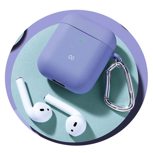 Lila AirPods 1 2