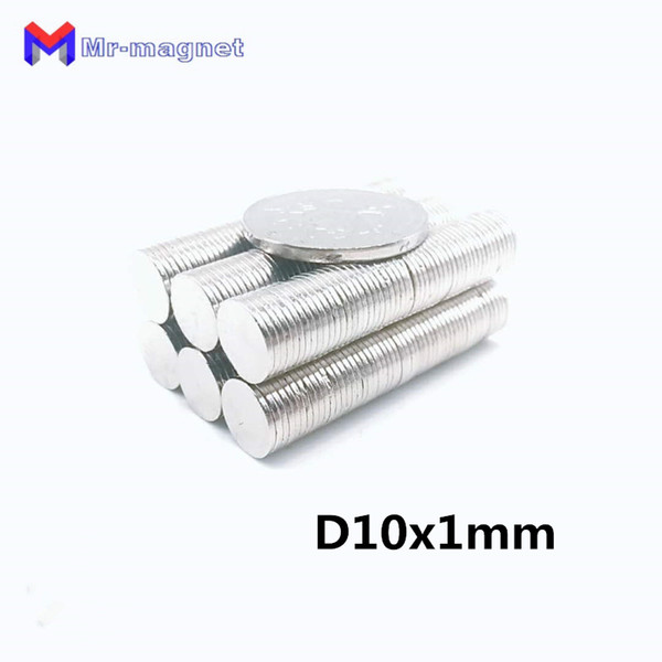 100pcs 10mm x 1mm super strong magnet, d10x1mm magnets 10x1 permanent magnet 10x1mm rare earth 10*1 d10*1mm 10*1mm magnet