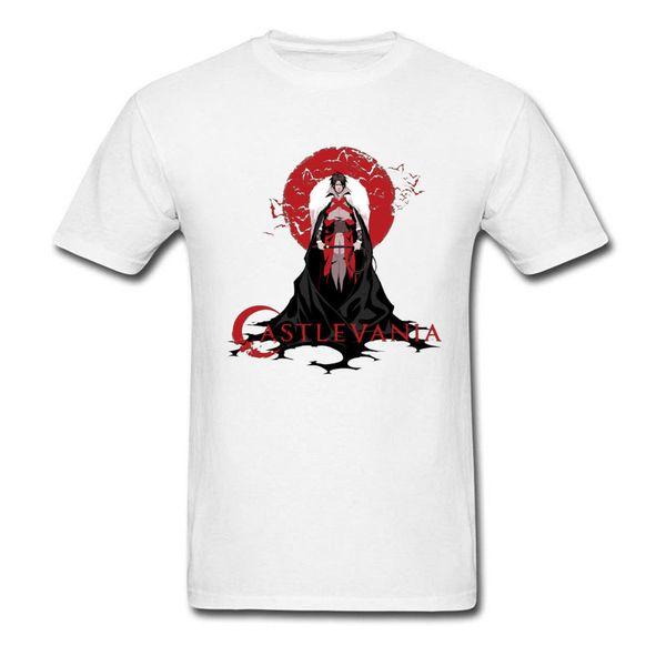 Plus Size Europe Printing Men T-shirts Vampire Hunter Castlevania Buffy Cool T Shirt Cotton Cheap Funny Sweatshirts Summer