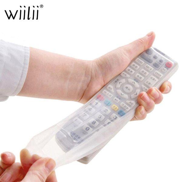 Tv klimaanlage fernbedienung silikon schutzhülle hülle haut staub wasserdicht tasche taschen