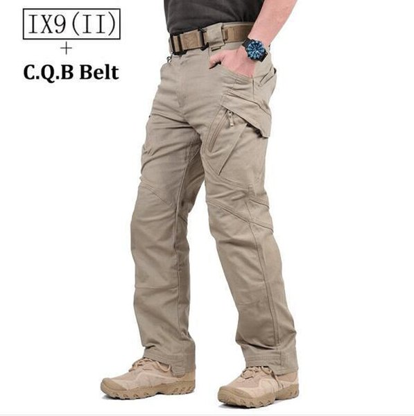 Hot Sale! TAD IX9(II) Militar Tactical Cargo Outdoor Pants Men Combat Hiking Army Training Military Pants Hunting Outdoors Sport Trousers