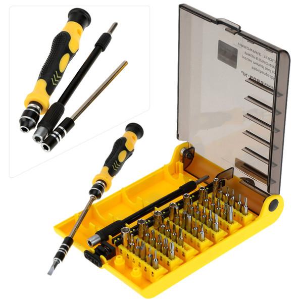 45-in-1 Set di cacciaviti Belle Tool Kit mano Hardware cacciavite regolato intercambiabili manuale Strumento per la Mobile Hard Drive Telefono