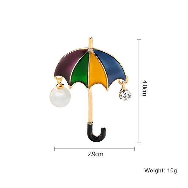 красочный зонтик