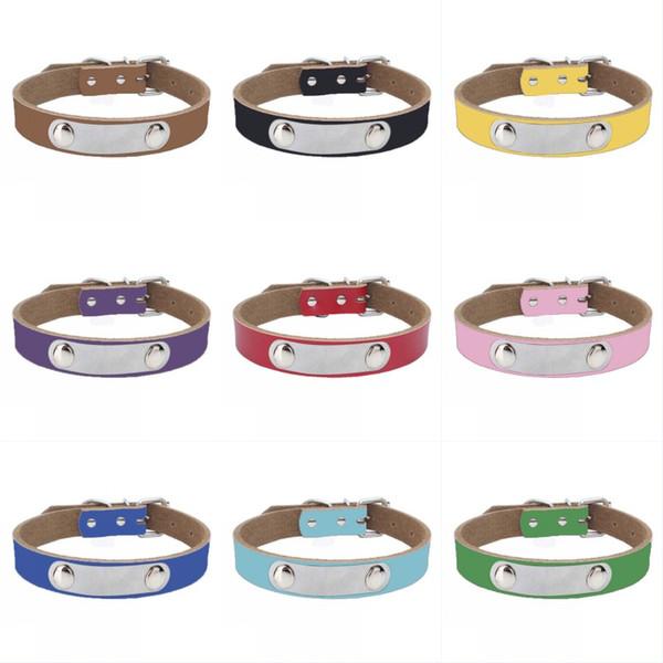 Cuir de vachette collier pour chien en cuir véritable épaississement chaîne corde de traction accessoires pour chiens collier de chien en cuir pour chien