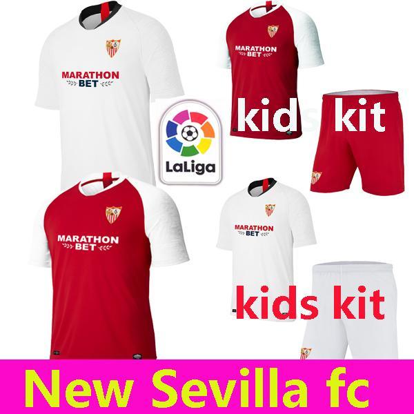 NUEVO 19 20 Sevilla fc azul Soccer Jersey maillots de football 2019 2020 blanco hogar lejos tercera camiseta de fútbol camisetas de
