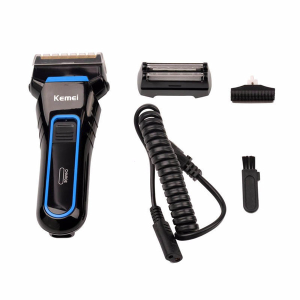 Hot Selling Electric Razor Rechargeable Beard Trimmer Ergonomics Design Shaving Machine Professional Male Reciprocating Electric Shaver