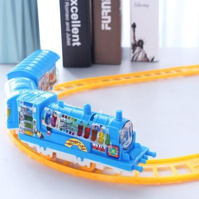 TM piste électrique petit train jouet stalle vente chaud chaud modèle de train jouet pour enfants classique gros