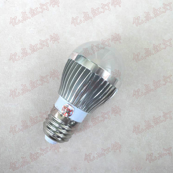 E27 3W ضوء دافئ لمبة LED