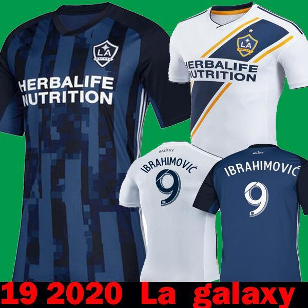 1327bdfc3 Nuevo 2020 La Galaxy Zlatan IBRAHIMOVIC Inicio Blanco 2019 Camisetas ...