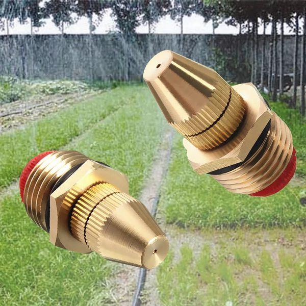 best selling 12 Inch Brass Adjustable Sprinkler Garden Lawn Atomizing Water Sprayer Nozzles