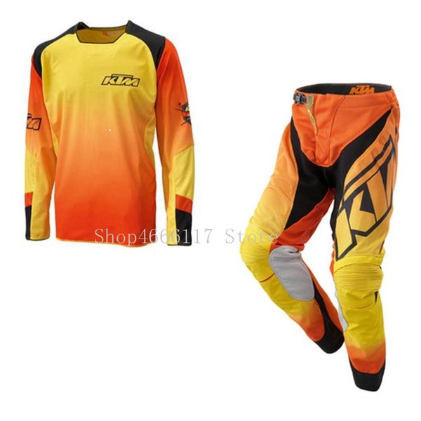 NEW Motocross Racing Jersey + Pants suits Motorcycle MX riding combination Moto GP Sets size M-XXL