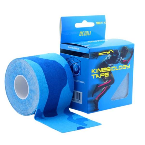 6rolls Kinesio Tex Tape atletici Nastri Kinesiologia Sport Taping Strapping buona qualità Calcio esercizio muscolare kinesiotape