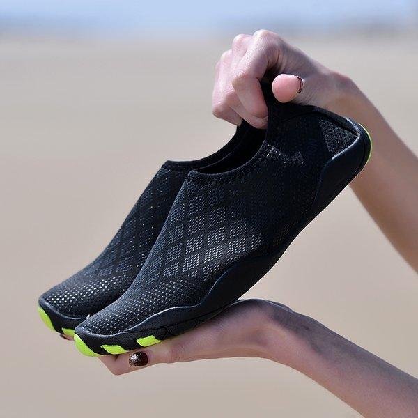 MenWomen Aqua Shoes Outdoor Beach-Wasser-Schuhe Upstream Creek Schnorcheln Stiefel Neopren Rutschfeste Leichte Unisex-Schuhe # 45372