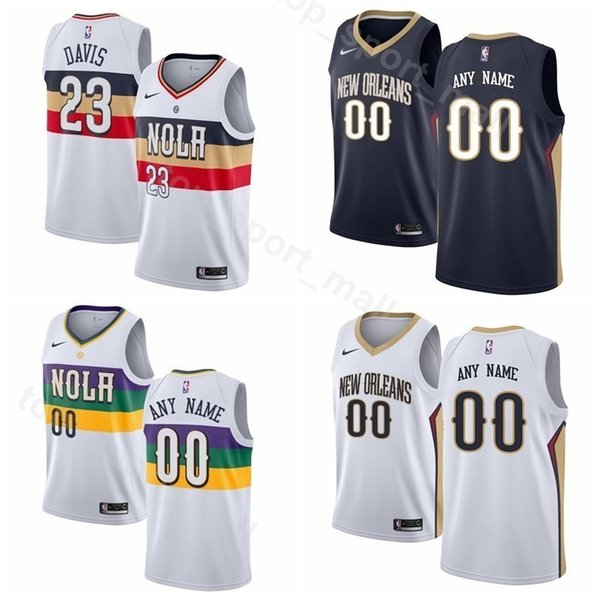 outlet store 41e9e e277a 2019 Print Man Kids Woman Pelicans Basketball Darius Miller Jersey 1 Zion  Williamson Elfrid Payton Jahlil Okafor Frank Jackson Kenrich Williams From  ...