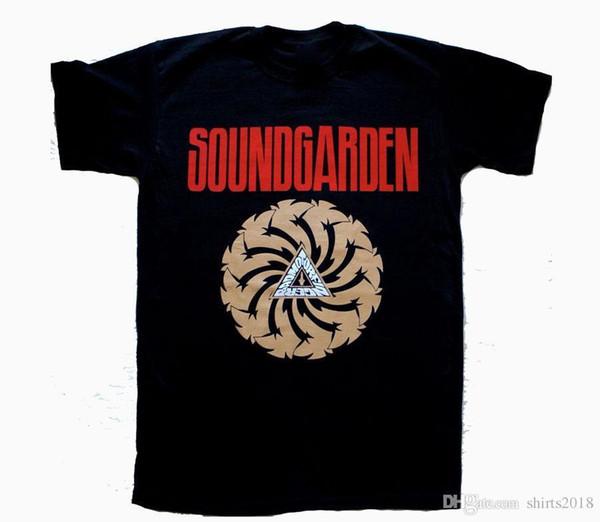 New Soundgarden Badmotorfinger'92 Audioslave Chris Cornell Grunge T-shirt noir d'été La nouvelle mode