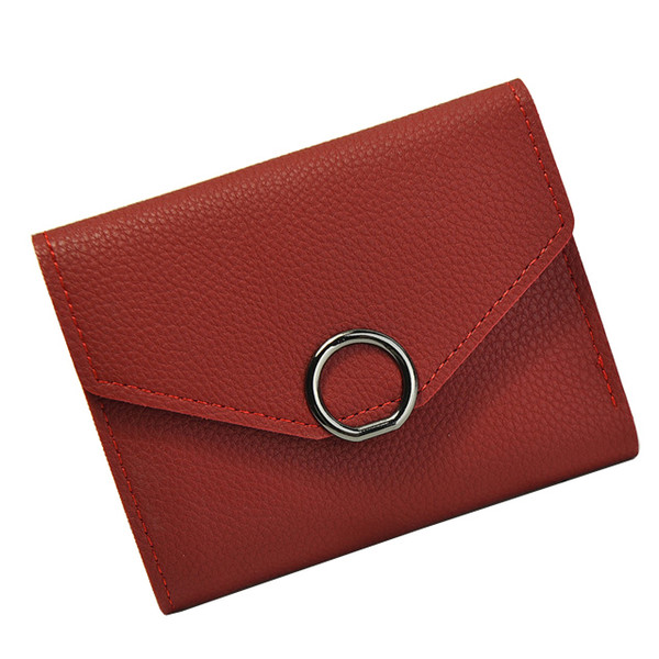 Short Purses Women Wallets Hasp Good Quality Brand Design Lady Money Bags Clips Female Purse Woman Wallet Cards Holder Burse Bag