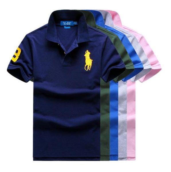 Polo ralphs laurens shirt brand mens designer Polos shirts luxury shirt men summer Cotton Comfortable polo shirt classic Selling fashion tee