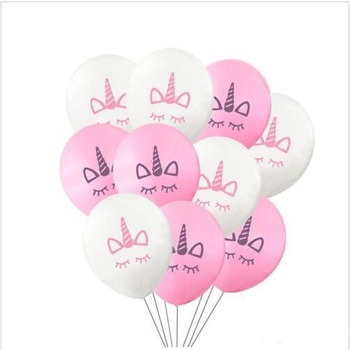 Licorne Ballons gonflables Latex Ballons partie Décoration roman Palloncini De Mariage De Noël fête De Naissance anniversaire De Noël Halloween Cadeau LT568