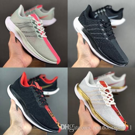 Nike Air Max Marque mode diapositives design de luxe hommes femmes chaussures pour hommes Zoom Pegasus 35 Turbo 2.0 Zapatos blanc extérieur chaussure Casual mocassin
