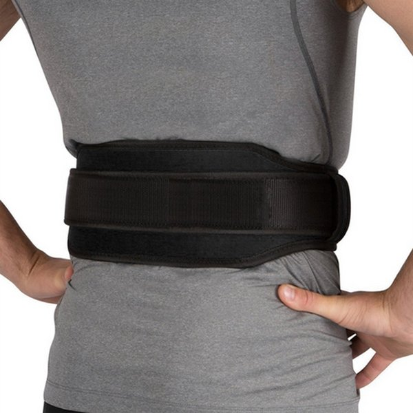 Gym Weight Lifting Belt Waist Back Support Strap Power Dip Training Fitness Premium Sports Body Building Fitness #764098