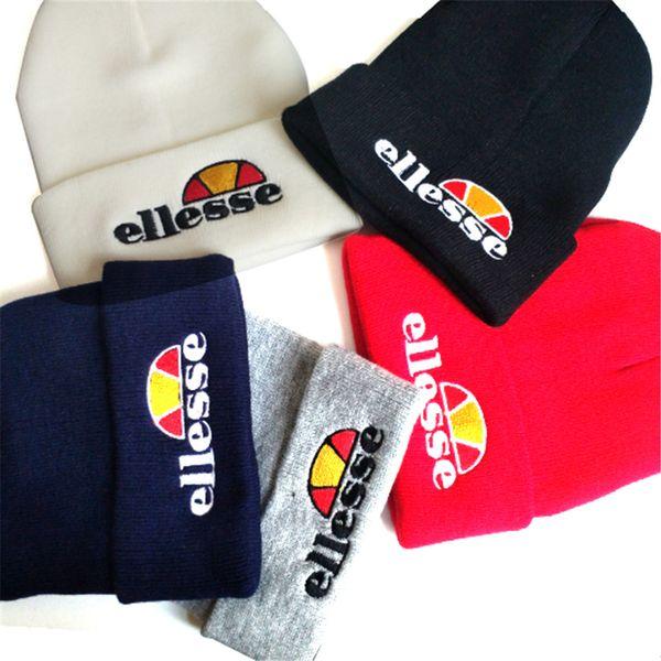 a23b026386 2018 ELLESSE Men'S Casual Cap Fashion Winter Caps Hats Knitted Sport ...