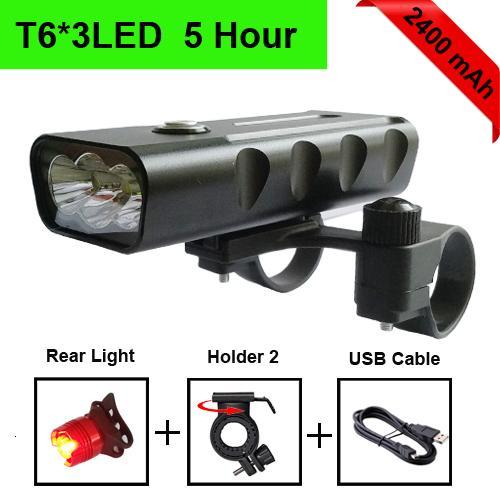 T6 2400mAh taillight