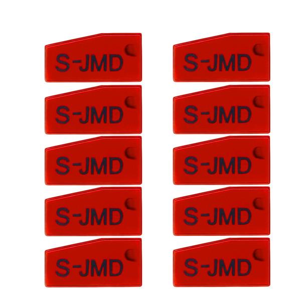 Venta al por mayor 20PCS / Lot 100% original RED JMD King Chip para CBAY Handy Baby Key Copier para clonar 46 / 4C / 4D / G Chip Envío gratuito El mejor
