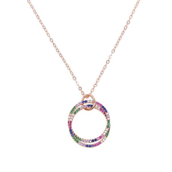 Rose Gold Halsband