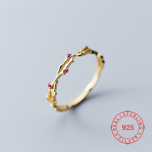 China High Quality Gold Plating Women 925 Sterling Silver Fashion Jewelry Cute Twist Pink CZ Crystal Cocktail Rings 14k gold ring Gifts