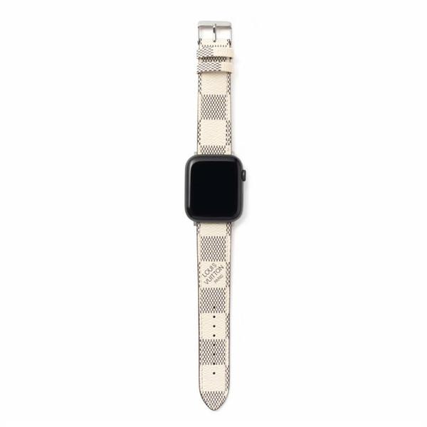 시계 밴드 스트랩 apple 42 미리 메터 44 미리 메터 PU 가죽 스마트 시계 교체 어댑터 커넥터 apple 시리즈 3 2 1