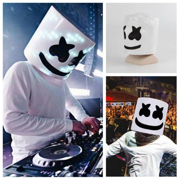Masmelo chaud DJ casque masmelo mode concert masque mystère fête masque Le fantôme de la terreur Halloween masque T2I5124