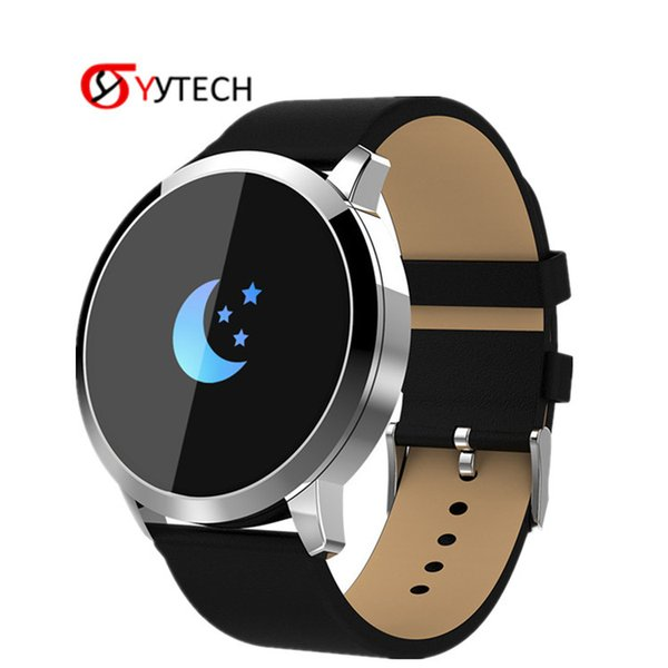 SYYTECH New Q8 Health monitoring smart watch waterproof sports step counter Call reminder heart rate monitor smart bracelet