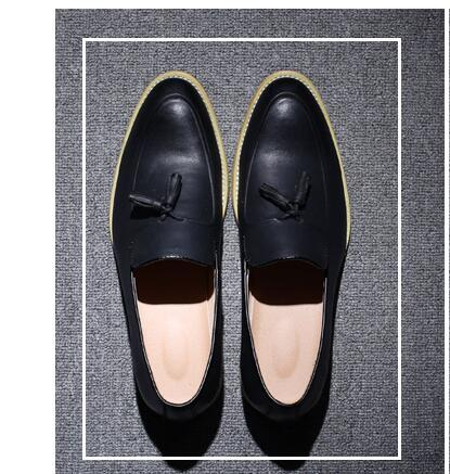 Mocasines para hombre de cuero retro marca de zapatos de diseño 2017 planos de conducción zapatos casuales hombres de alta calidad alpargatas marrón estilo británico