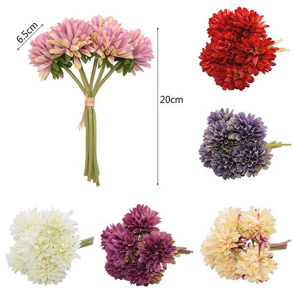 flower decoration for wedding reception.htm 2019 artificial simulation flowers ball shape chrysanthemum for  flowers ball shape chrysanthemum