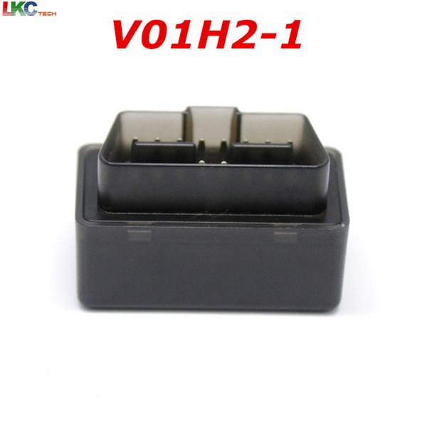 50pcs DHL New Style V01H2-1 OBDII Car Diagnosis Scanner Version V1.5 elm327 Bluetooth Diagnostic Machine OBD2 Protocol V01B2-1